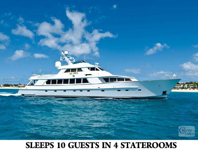 Caribbean Luxury Motoryacht Special Offer for January 9th – February 6, 2010