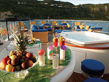 Luxury Caribbean Motoryachts with Holiday Availability