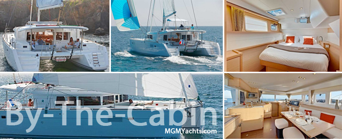BY-THE-CABIN Crewed Yacht Charter in the BVI's