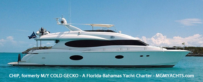 Yacht Charter the Bahamas on a beautiful 84′ Lazzara