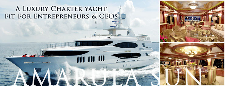 Amarula Sun, A Luxury Yacht Charter Fit for Entrepreneurs and CEOs