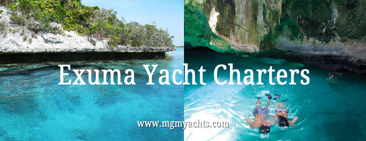 Exuma Islands Charter Yachts, Power or Sail