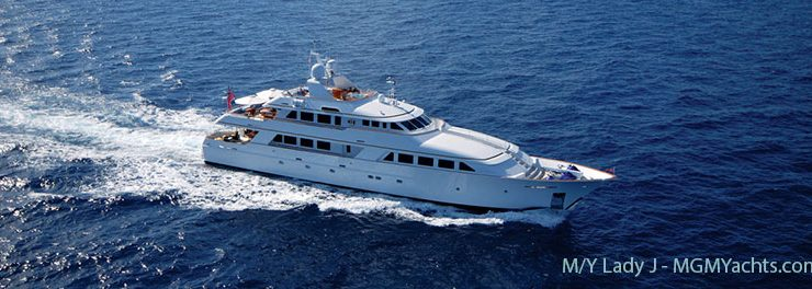 Charter Deal: 142 Ft. Mega Yacht M/Y LADY J