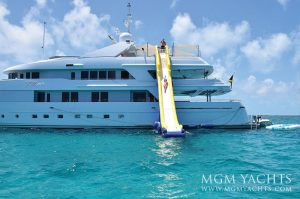 luxury yacht charter vacation