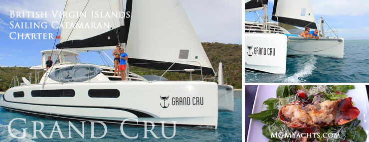 Charter Special: British Virgin Island Crewed Catamaran