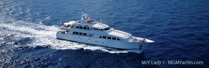 Mega Yacht Charter LADY J