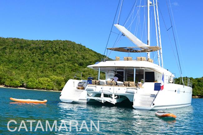 Catamaran Yachts, power or sail