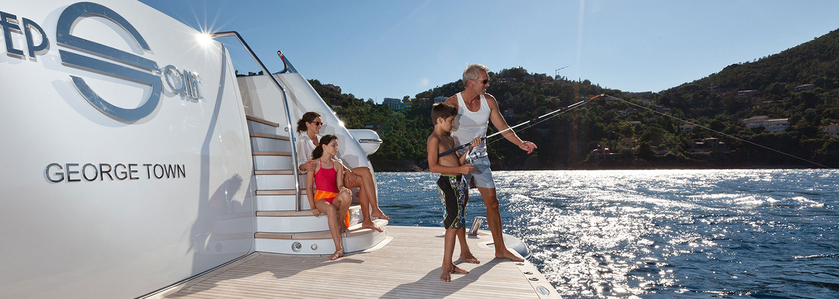 Family vacations on luxury yachts