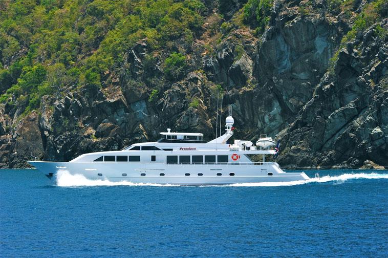 mega yacht Freedom