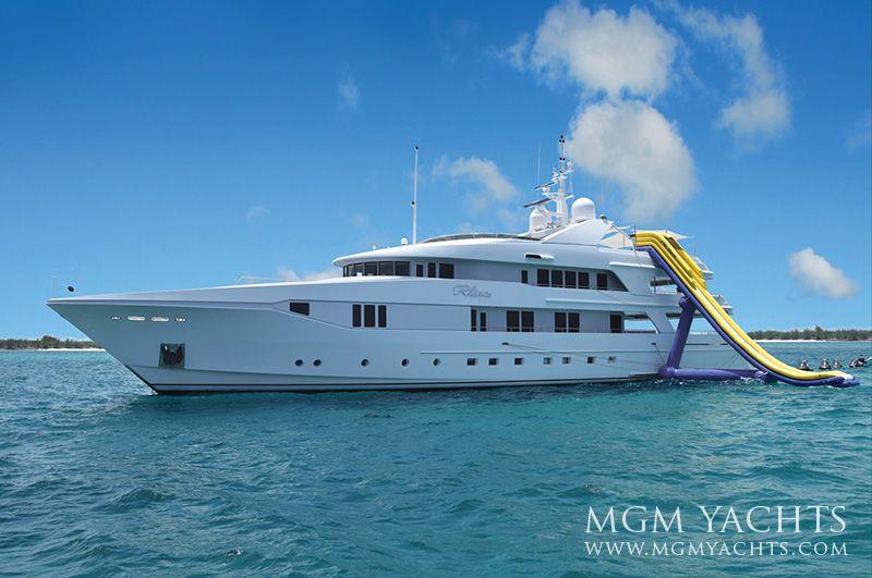 RHINO yacht charter 1
