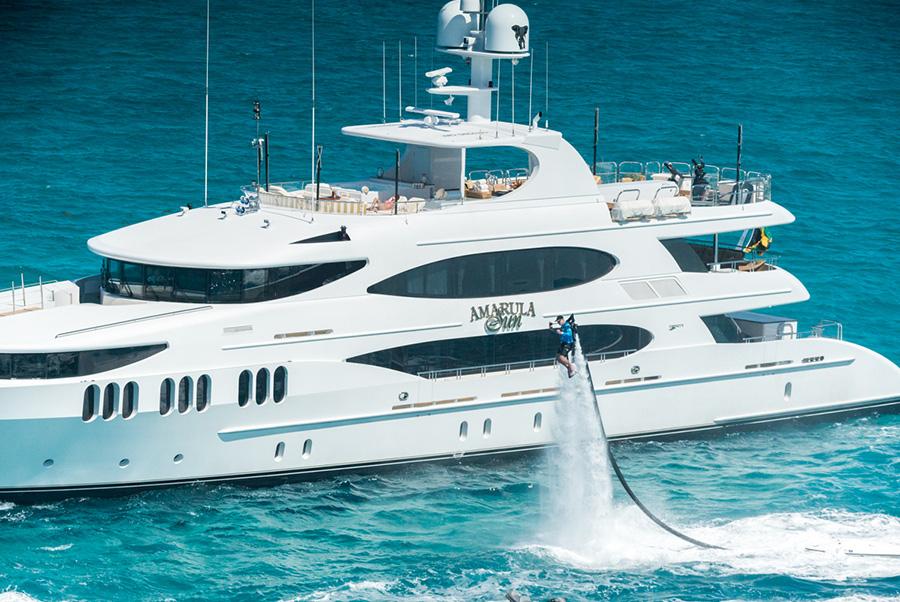 Mega Yacht Charter AMARULA SUN